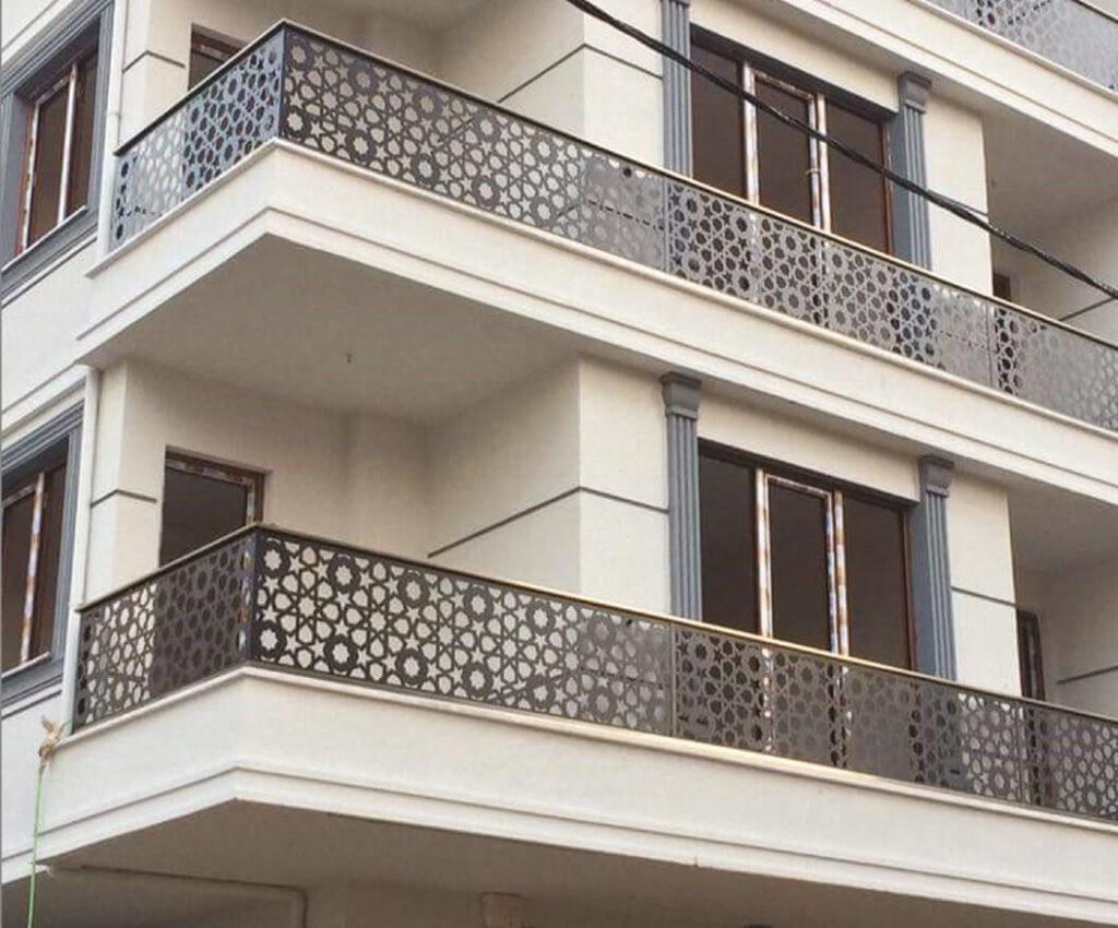 ferforje balkon korkuluğu, balkon korkulukları